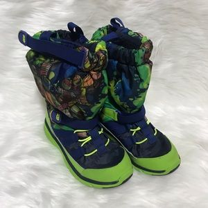 Stride Rite M2P TMNT Sneaker Boot Size 1